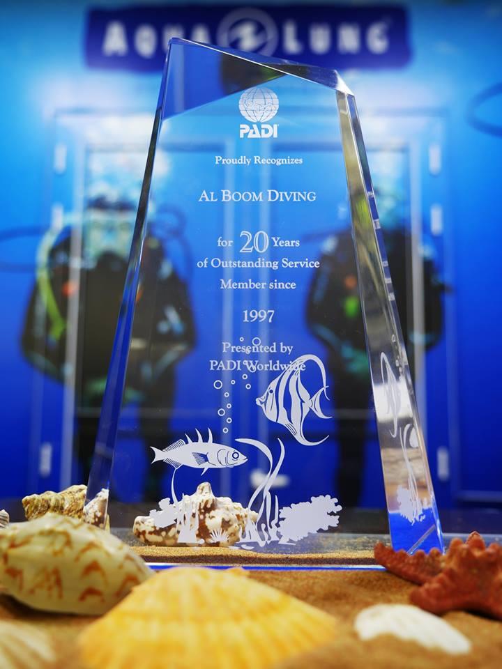 Al Boom Diving Best performance Award