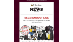 Al Boom Diving Newsletter - 2015-November-03