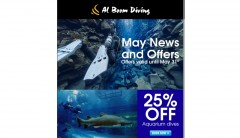 Al Boom Diving Newsletter - 2018-May-01