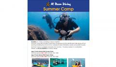 Al Boom Diving Summer Camp