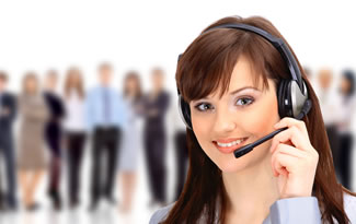 Call our friendly call center