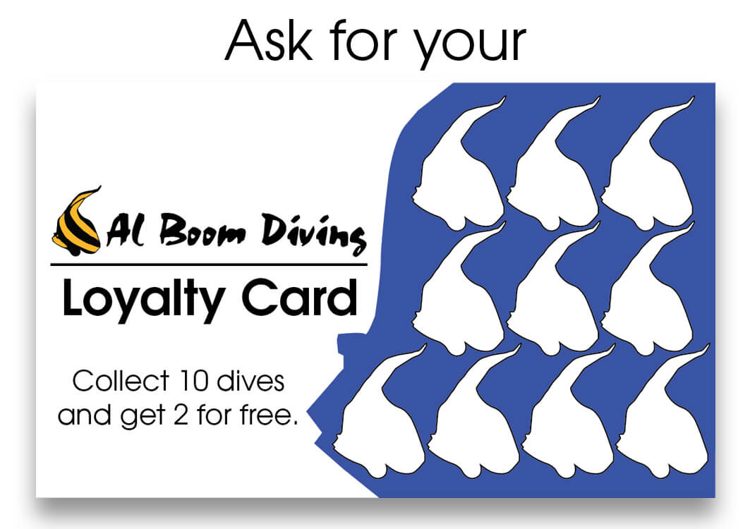 Loyality Card available