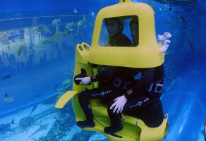 Shark Scooter at Dubai Aquarium and Underwater Zoo for Two 3