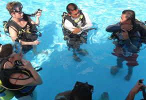 Discover Scuba Diving in the Pool